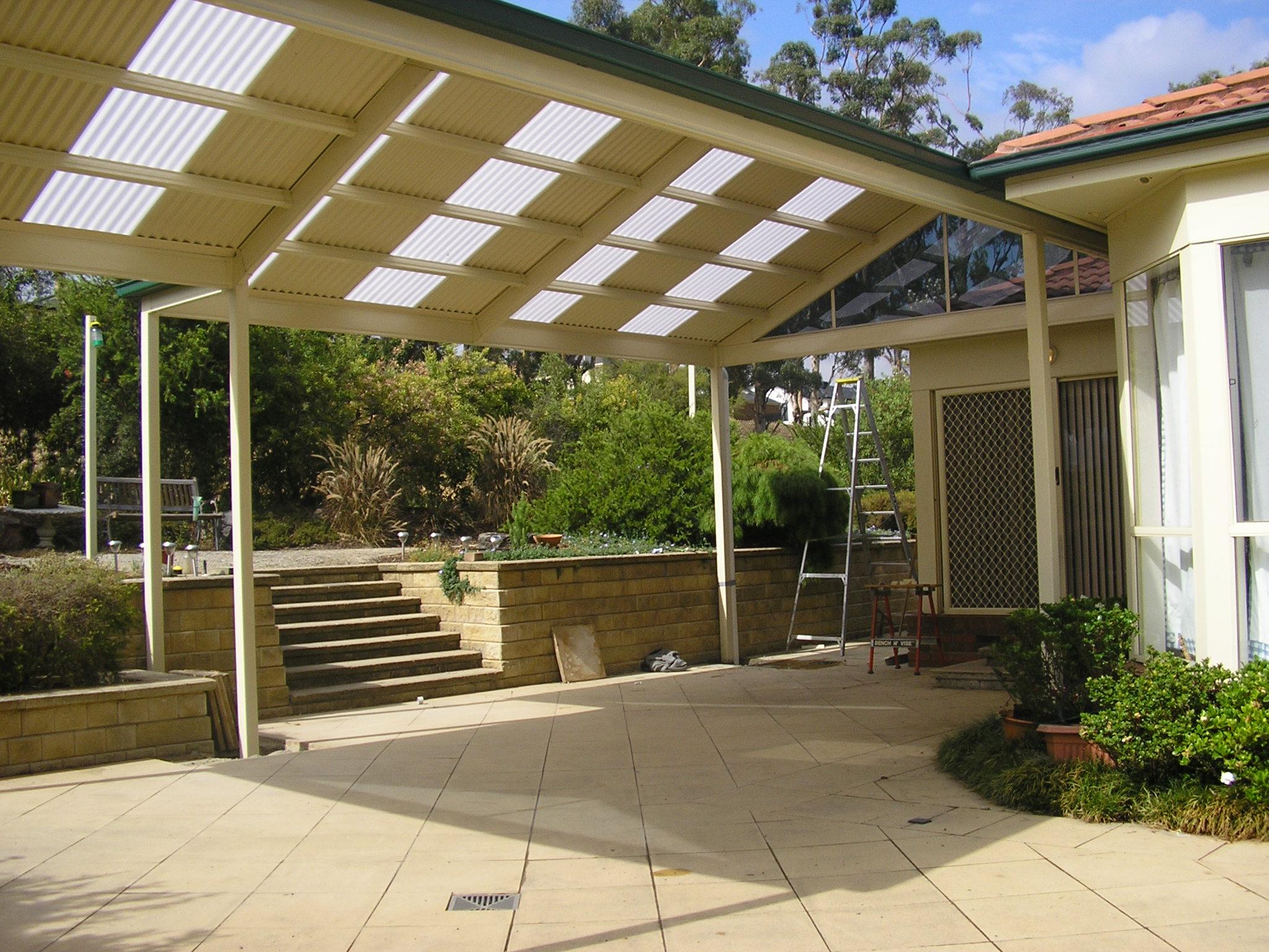 Custom designed steel pergolas verandahs carports - Metallic pergola design ideas seven elegant choices ...