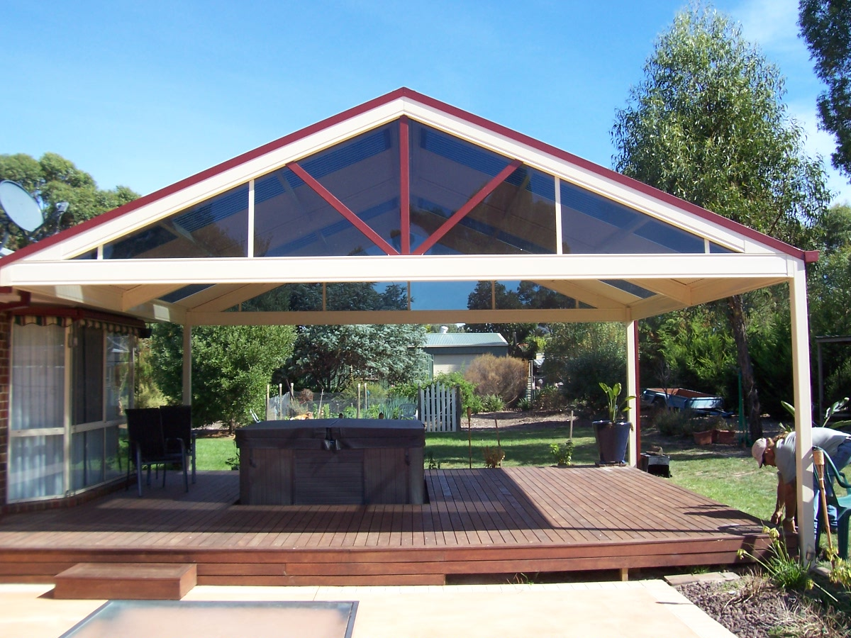 Roof styles pergolas plus - Pergola with roof ...