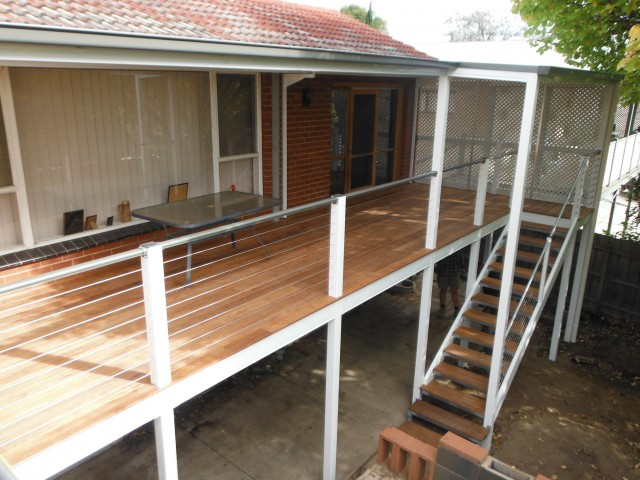 Steel Frame Decking